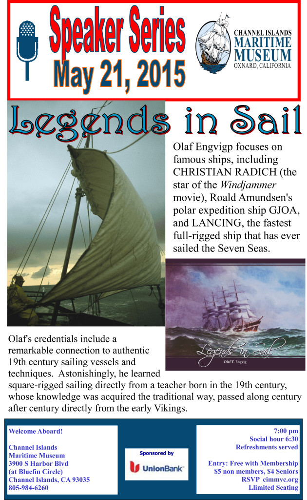 may olaf legends of the sail